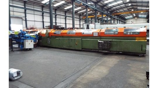 Used BEWO Steel Pipe Cutting Centre for sale