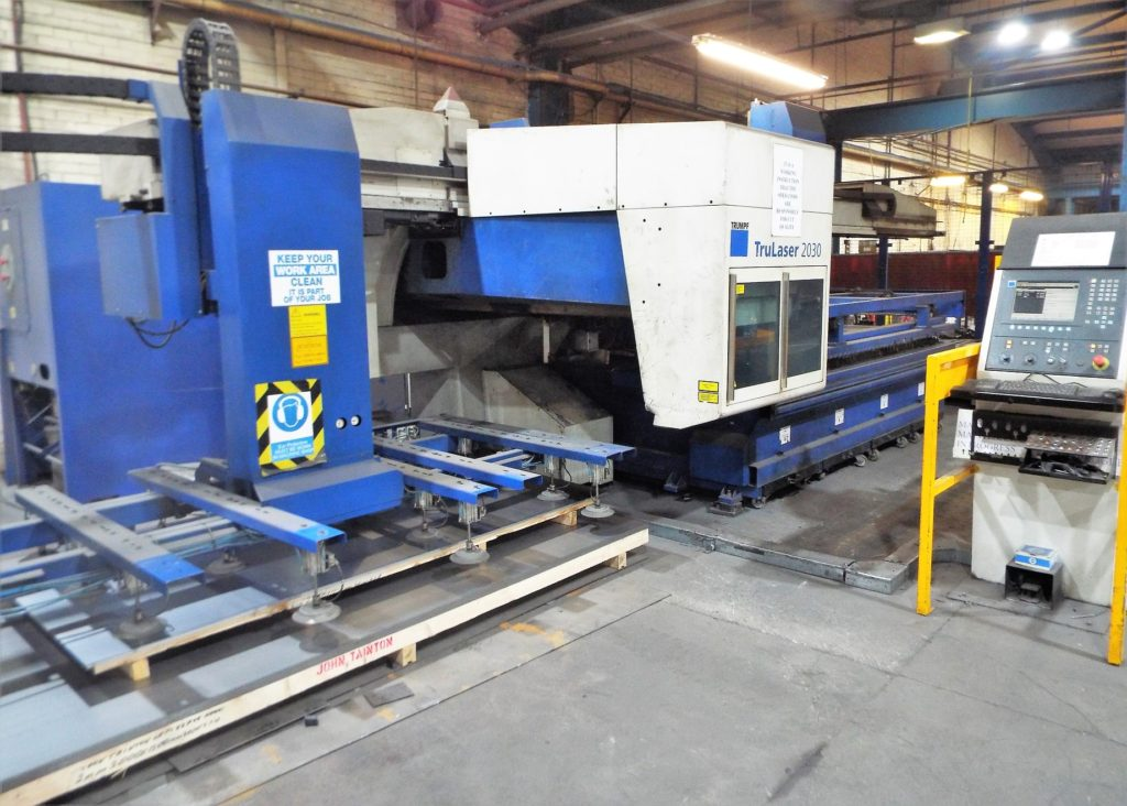 Amada Vipros 2510 Punch Press and A Trumpf Trulaser 2030