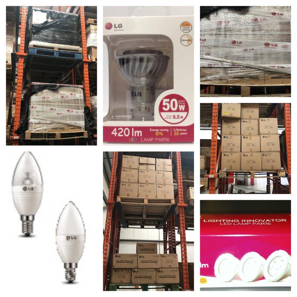 LG LED Lighting for sale as a job lot