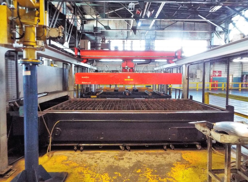 Bystronic 4020 6KW Laser Cutting Cell for Sale