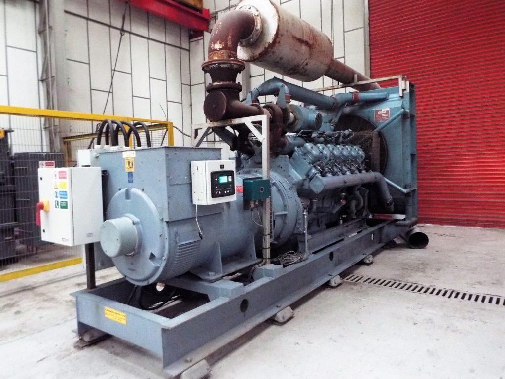 Dawson Keith Diesel Fired Generator for Sale